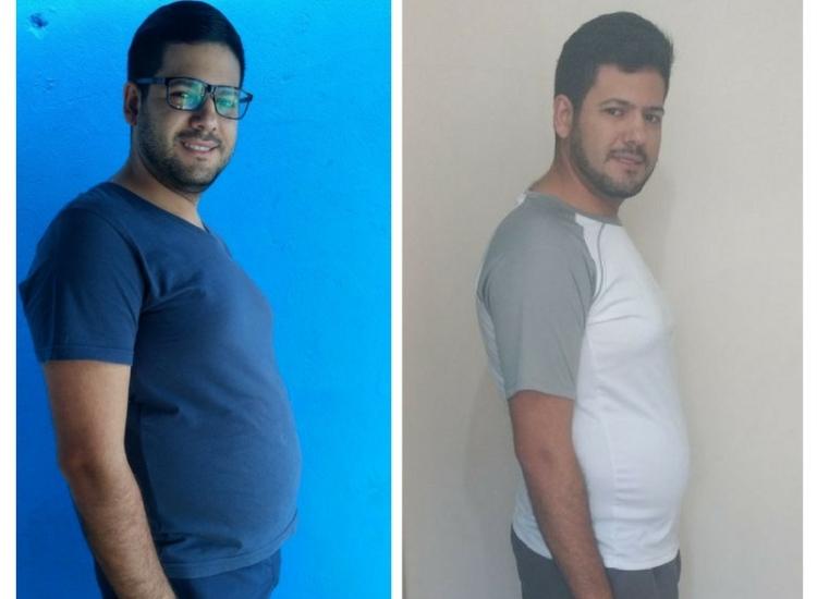 Paciente elimina 8 quilos em menos de um mês com a Dieta dos Reis e resgata autoestima e saúde